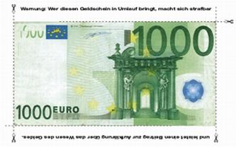 1000 Euro - Der Schein trügt