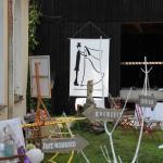 Atelierscheune - extra zum Hochzeit feiern nutzen im Kunsthaus Eigenregie