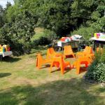 Obstgarten in Hochzeitsdekoration
