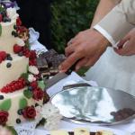 Hochzeitstorte in der Hochzeitslocation Kunsthaus Eigenregie