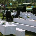 Hochzeit im Garten des Kunsthaus Eigenregie