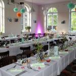 Hochzeitstafel im Kunsthaus Eigenregie