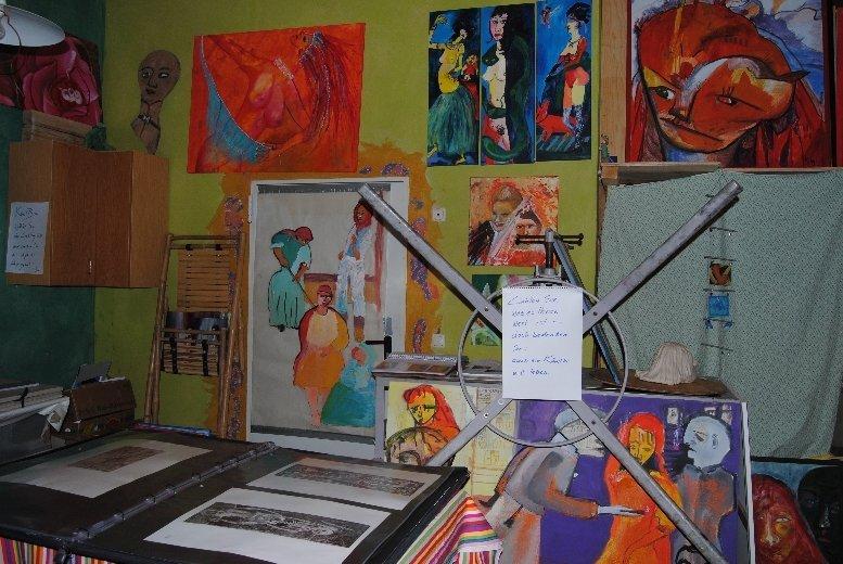 altes Atelier in Steinsdorf