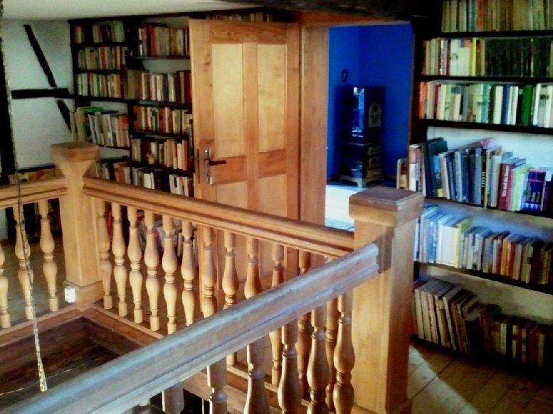 Bibliothek im Kunsthaus Eigenregie in Eschenbach