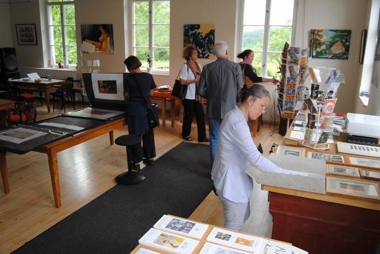 Pfingsten im Kunsthaus Eigenregie - Offenes Atelier