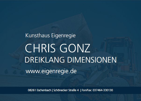 Postkarte Chris Gonz