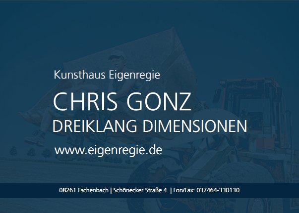 Postkarte Chris Gonz