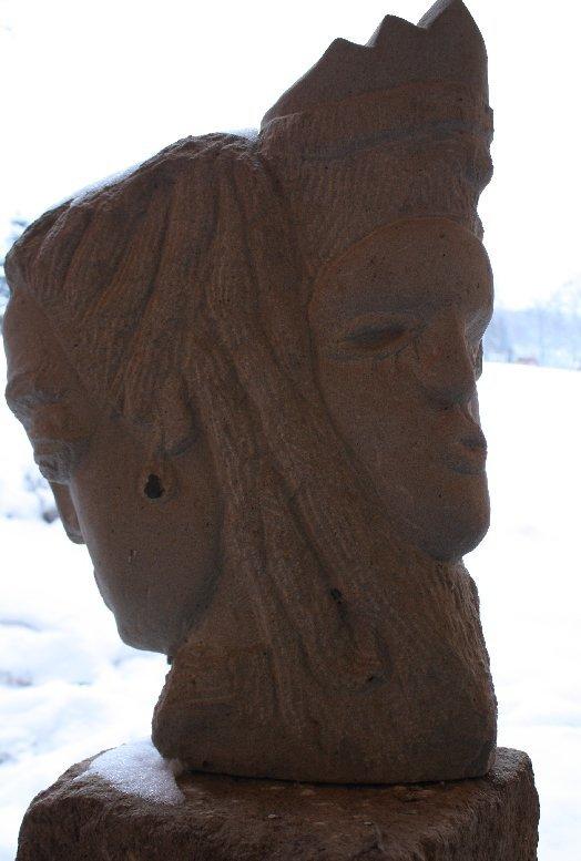 inesj.plauen, Skulptur Lilith und Adam