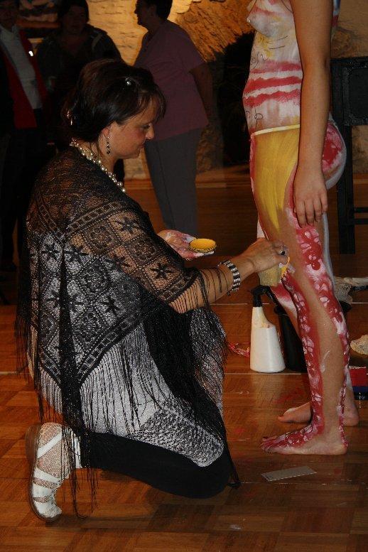 inesj.plauen Bodypainting Galerie im Malzhaus