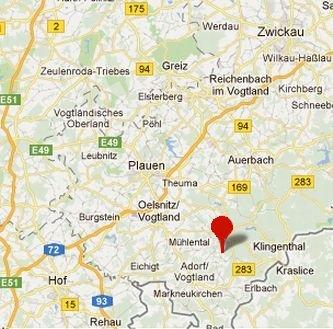 Kartenausschnitt Eschenbach