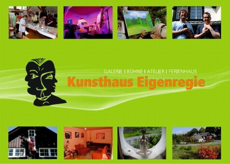 Kunsthaus Eigenregie - Programmkarte