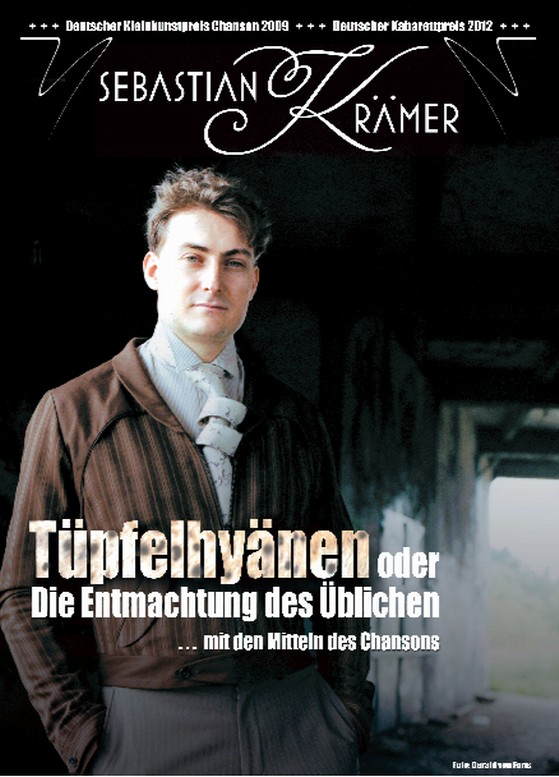 Sebastian Krämer - im Kunsthaus Eigenregie am 07.12.2013