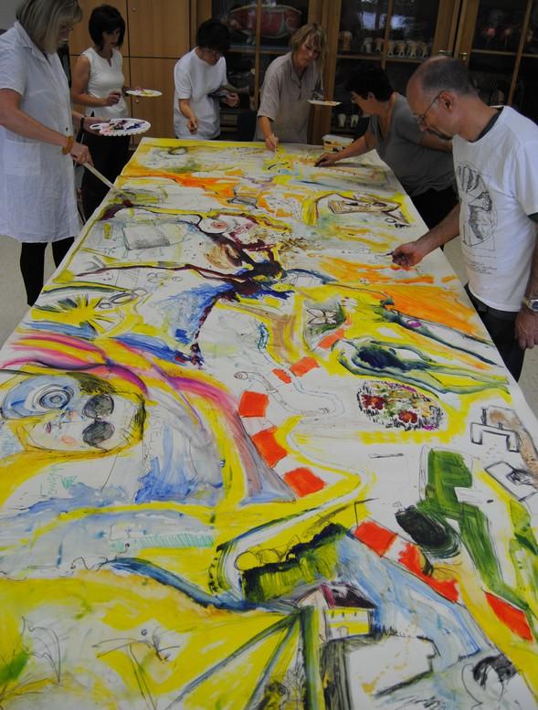 Kunstworkshop bei inesj.plauen