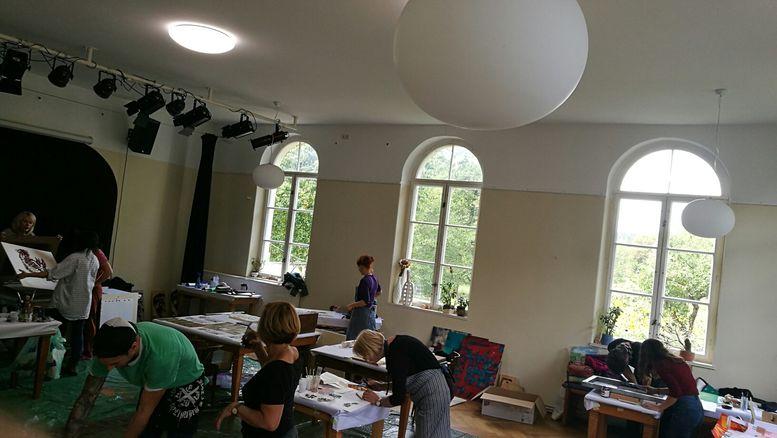 Max Rosner - Siebdruckkurs & Ausstellung ad absurdum - Kunsthaus Eigenregie - Oktober 2018