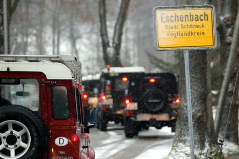 Snowy Mountain Meeting 2014 - Landrover Treffen im Kunsthaus Eigenregie