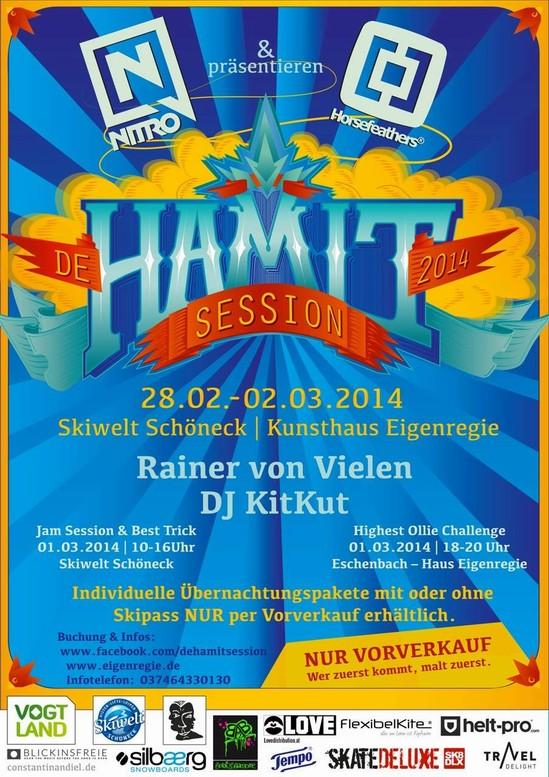 De Hamit Session 2013 -  im Kunsthaus Eigenregie
